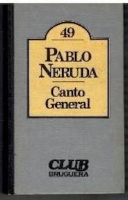 Canto General - Pablo Neruda (ISBN 8402076270)