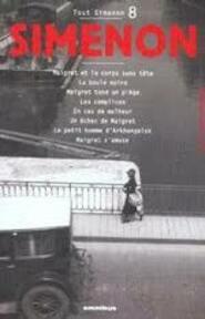 Tout Simenon 8 - Georges Simenon (ISBN 9782258060494)