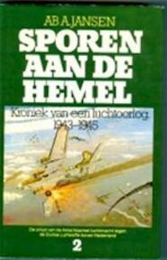 Sporen aan de hemel II - Ab A. Jansen (ISBN 9060450752)