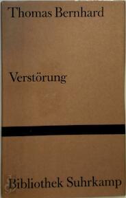 Verstörung - Thomas Bernhard (ISBN 9783518012291)
