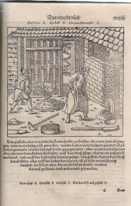 Vom Bergkwerck xii. Bücher dariñ alle Empter / Instrument / Bezeuge unnd alles zü disem handel gehörig - Georgius Agricola