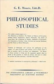 Philosphical Studies - G.E. Moore (ISBN 0710030010)
