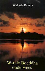 Wat de Boeddha onderwees - W.S. Rahula, Robert Hartzema (ISBN 9789063500481)