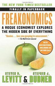 Freakonomics - Steven D. Levitt, Stephen J. Dubner (ISBN 9780060731335)