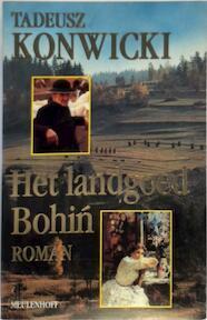 Landgoed bohin - Tadeusz Konwicki (ISBN 9789029037853)