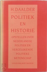 Politiek en historie - Hessel Daalder (ISBN 9789035109032)