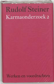Karmaonderzoek 2 - Rudolf Steiner (ISBN 9789060385234)