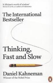 Thinking, Fast and Slow - Daniel Kahneman (ISBN 9780141033570)