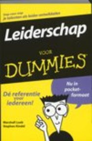 Leiderschap voor dummies - Marshall Loeb, Stephen Kindel, Fontline (ISBN 9789043001656)