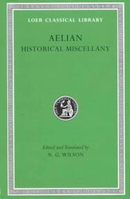 Historical Miscellany L486 (Trans. Wilson)(Greek) - Aelian (ISBN 9780674995352)