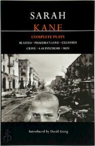 Kane Complete Plays - Sarah Kane, David Greig (ISBN 9780413742605)