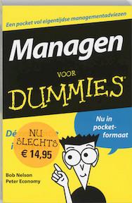 Managen voor Dummies - Bob Nelson, Peter Economy (ISBN 9789043008501)