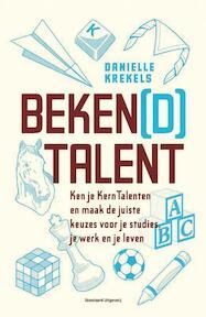 Beken(d) talent - Danielle Krekels (ISBN 9789002252181)