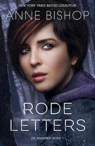 Rode letters - Anne Bishop (ISBN 9789026137518)