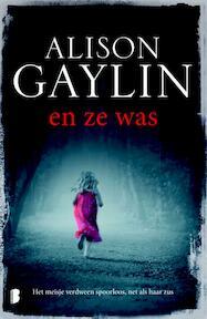 En ze was - Alison Gaylin (ISBN 9789022571903)