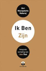 Ik Ben/Zijn - Shri Nisargadatta Maharaj (ISBN 9789401302050)