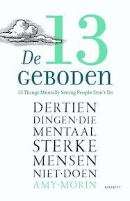 De 13 geboden - Amy Morin (ISBN 9789045204680)