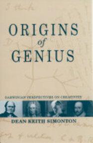 Origins of Genius - Dean Keith Simonton (ISBN 9780195128796)