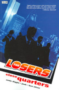 The Losers: close quarters - Andy Diggle, Ben Oliver (ISBN 9781401207199)