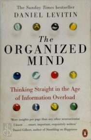 Organized Mind - Daniel Levitin (ISBN 9780241965788)