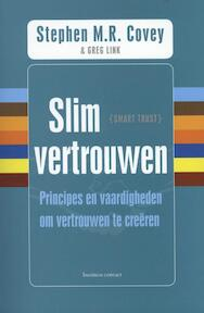 Slim vertrouwen - Stephen M.R. Covey, Greg Link, Rebecca R. Merrill, Rebecca Merrill (ISBN 9789047005162)