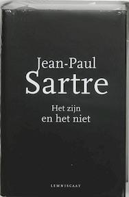Het zijn en het niet - Jean-Paul Sartre (ISBN 9789056374976)