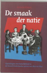 De smaak der natie - E. Krol (ISBN 9789065505521)