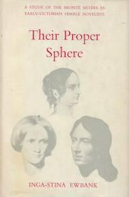 Their Proper Sphere - Inga-Stina Ewbank