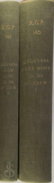 Gegevens Betreffende Roerend en Onroerend Bezit in de Nederlanden in de 16e Eeuw -