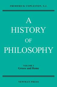 History of Philosophy - Frederick Copleston (ISBN 9780809100651)