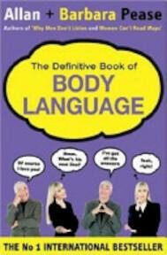 The Definitive Book of Body Language - Allan Pease, Barbara Pease (ISBN 9780752861180)