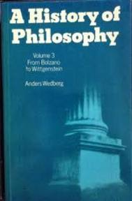 A history of philosophy - Anders Wedberg (ISBN 9780198246930)