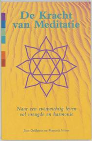 De kracht van meditatie - J. Goldstein, Manuela Soares (ISBN 9789060579756)