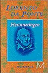 Herinneringen - Lorenzo Da Ponte, Antonius Jozef Maria Haakman (ISBN 9789029054812)