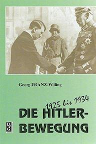Die Hitler-Bewegung - Georg Franz-Willing (ISBN 9783920722641)