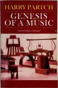 Genesis of a music - Harry Partch (ISBN 9780306801068)