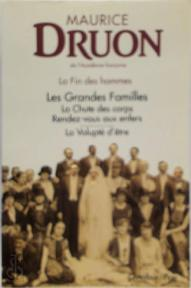 La fin des hommes - Maurice Druon (ISBN 9782259027670)