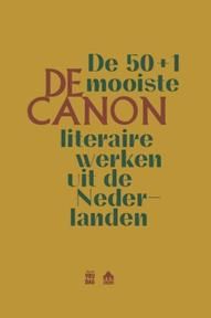 De Canon. De 50+1 mooiste literaire werken uit de Nederlanden - Kantl (ISBN 9789460013720)