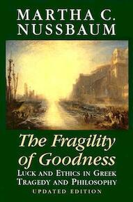 The fragility of goodness - M.C. Nussbaum (ISBN 9780521794725)