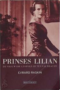 Prinses Lilian - Evrard Raskin (ISBN 9789052404318)