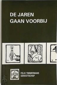 De jaren gaan voorbij - Louis Vercaammen (ISBN 9789030634577)