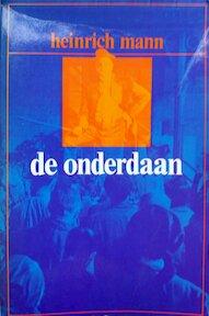 Onderdaan - Mann (ISBN 9789010014900)