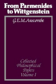Collected Philosophical Papers - G. E. M. Anscombe (ISBN 9780631133117)