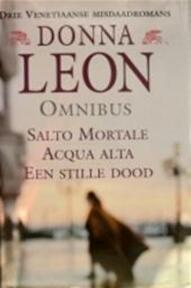 Drie Venetiaanse misdaadromans - Donna Leon, Frans Elsink (ISBN 9789022531280)
