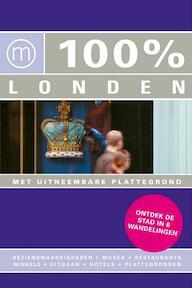 100% / Londen + stadsplattegrond - Maaike van Steekelenburg (ISBN 9789057674761)