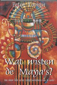 Wat wisten de Maya's? - P. Toonen (ISBN 9789075636147)
