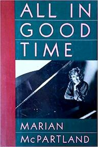All in good time - Marian McPartland (ISBN 9780195048711)