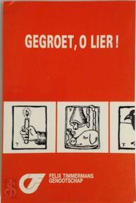 Timmermans jaarboek 20 gegroet o lier - Unknown (ISBN 9789030620457)