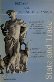 State and Trade - Simon Groenveld, Michael Wintle (ISBN 9789060117941)