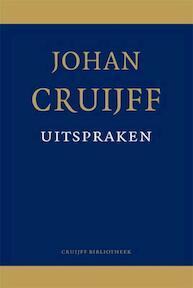Johan Cruijff uitspraken - Sytze de Boer, Johan Cruijff (ISBN 9789081797412)